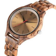цена на Retro Men Watches Natural Wooden Band Clock Male Handmade Engrave Scale Quartz Analog Watch Luxury Man Wood Wristwatch Relogio