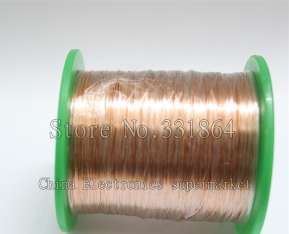 900m  Free Shipping 0.3 mm enameled wire QA-1-155 new polyurethane enamelled round copper winding wire free shipping 0 35mm 600m pcs qa 1 130 polyurethane enameled wire copper wire