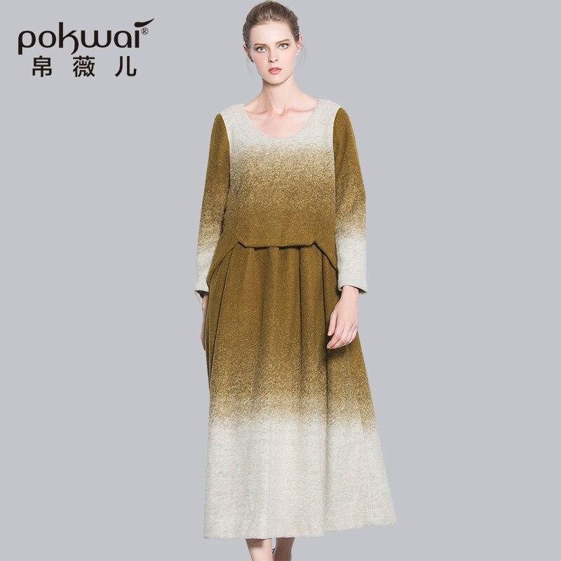 Одежда из шерсти платье