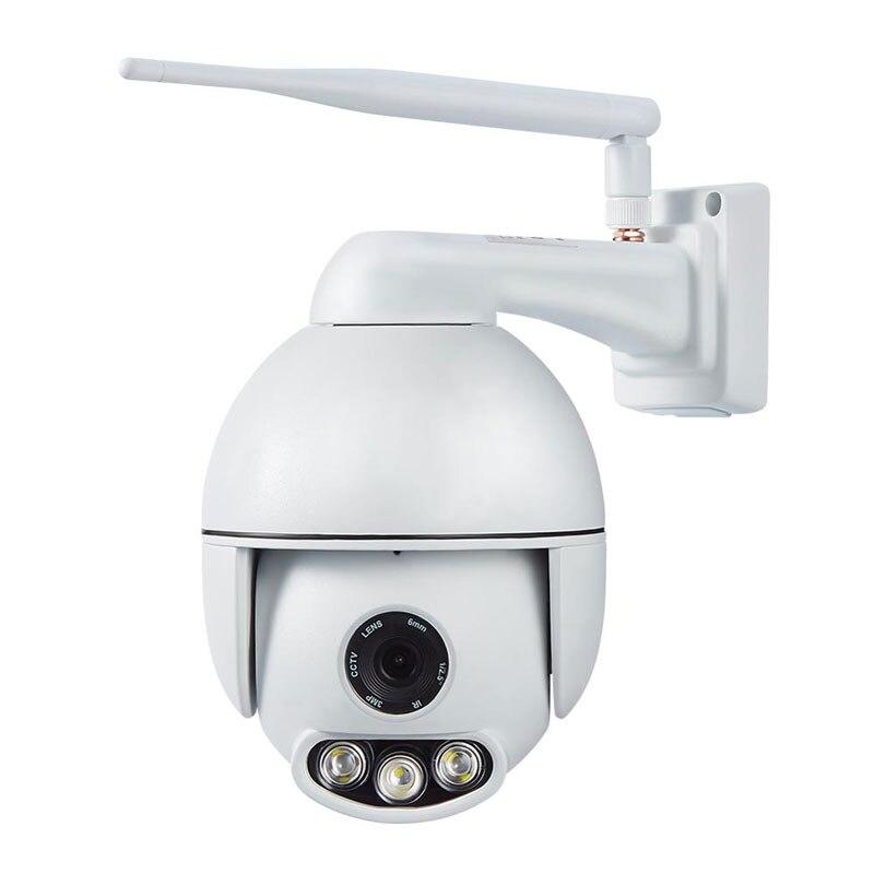 16X En Plein Air Étanche IP66 2.0MP 1080 P Sans Fil CCTV Caméra IP WIFI de Surveillance PTZ Caméra Détection De Visage Suivi Automatique Onvif