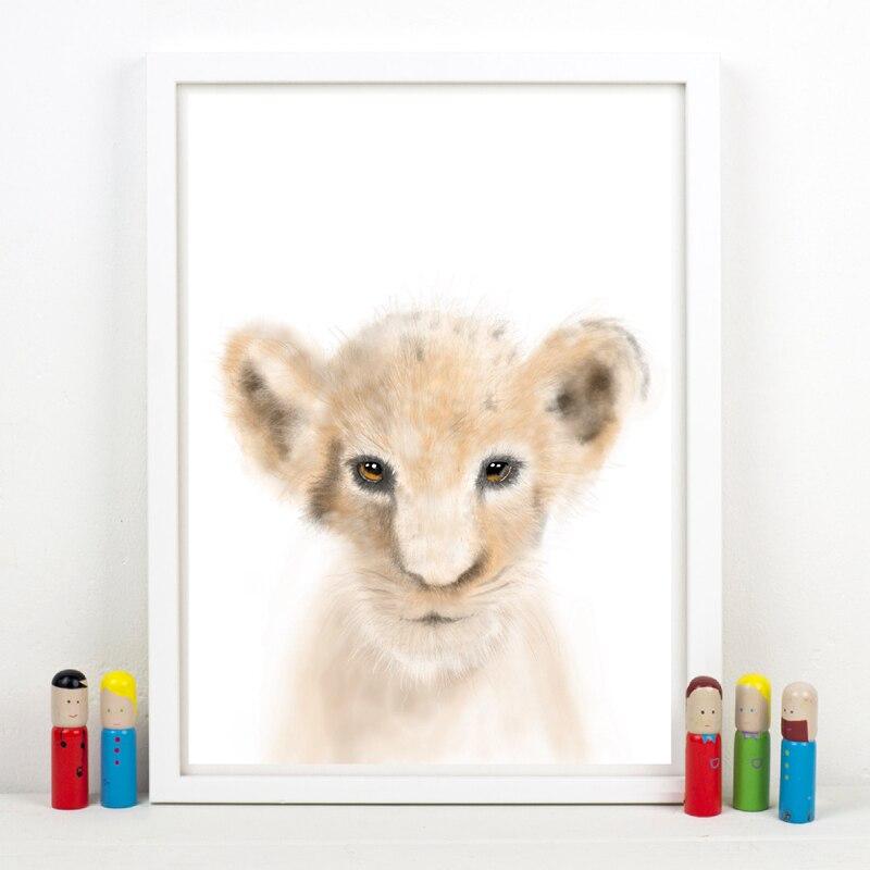 animal canvas art printing