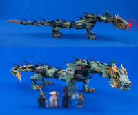 592pcs Ninja Movie Series Flying Mecha Dragon Model Building Blocks Bricks Kit Toys Children Compatiable Legoes