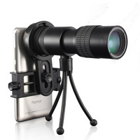 10 30x30 Zoom Monocular Telescope for Mobile phone High Power Mini Outdoor Hunting Spotting Scope Portable with Phone Clip