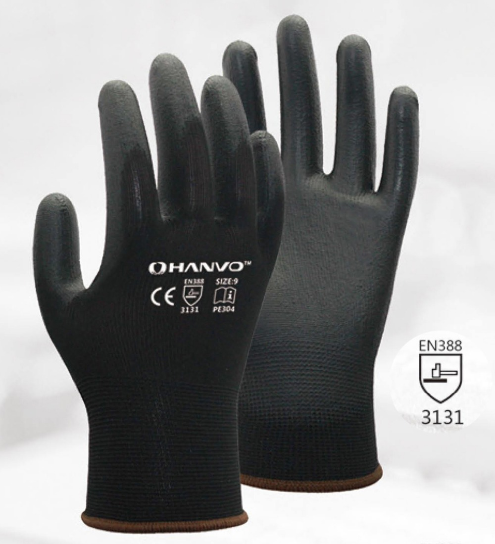 Rękawice ochronne ESD Rękawica antystatyczna Biała nylonowa - Bezpieczeństwo i ochrona - Zdjęcie 3