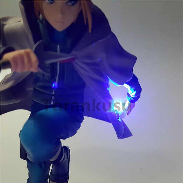 Naruto Action Figure Namikaze Minato Led Light Rasengan