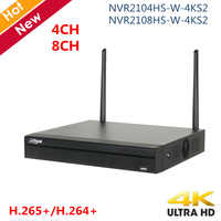 Original Dahua 4K NVR Recorder 4 Channel 8 Channel H.265 Compact 1U Lite 4K Wireless Nvr Network Video Recorder for IP systems