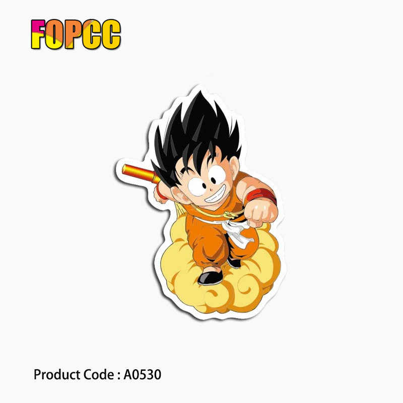 A0530 Anime Dragon Ball stickers voor kids Laptop Graffiti Auto gitaar bagage skateboard fiets waterdichte PVC stickers