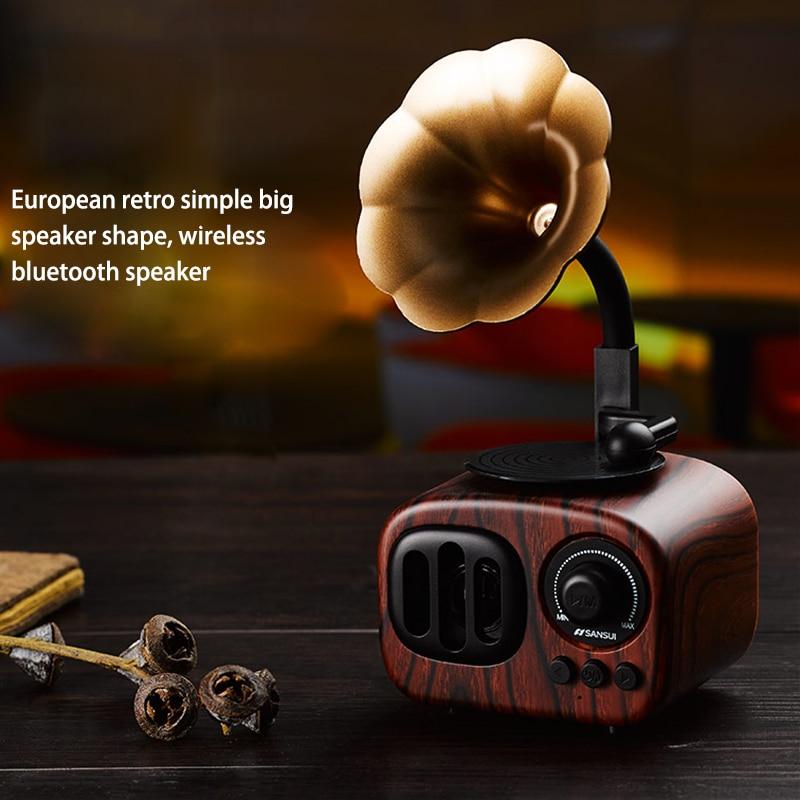Mini-Portable-Bluetooth-Wireless-Speaker-Retro-Wood-Speakers-Loudspeaker-Music-Box-Supprot-FM-Radio-Hands-free