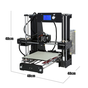 Image 3 - 쉬운 조립 Anet A6 Anet A8 3D 프린터 키트 i3 키트 DIY 키트 SD 카드 + 필라멘트 + 도구와 3D 인쇄 기계