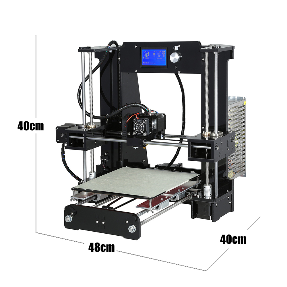Image 4 - Easy Assemble Anet A6 Anet A8 3D Printer Kits  i3 Kit DIY Kits 3D Printing Machine with SD Card+Filament+Tools-in 3D Printers from Computer & Office