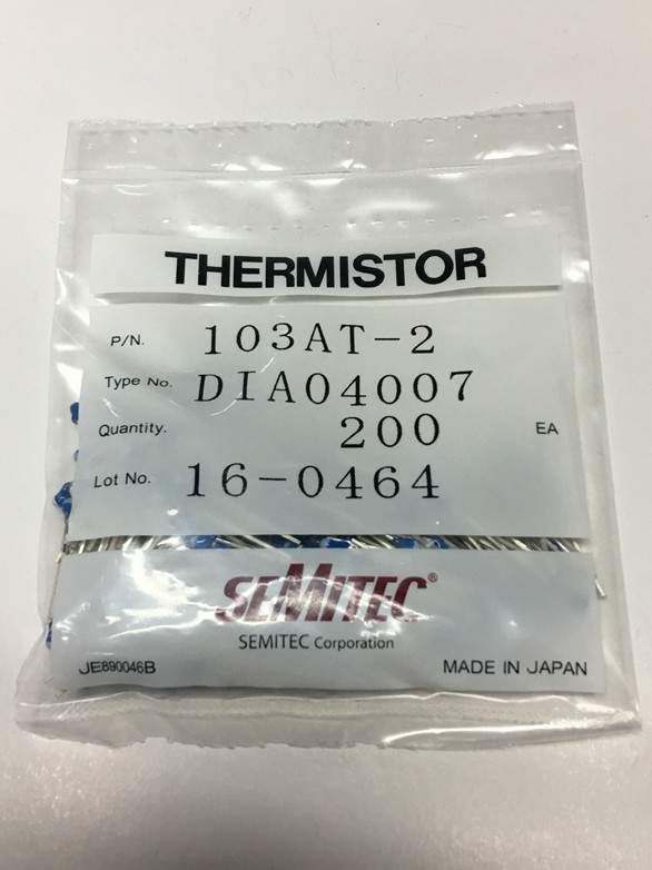 100 New and original 103AT 2 SEMITEC 10K 1 NTC thermistor temperature sensing