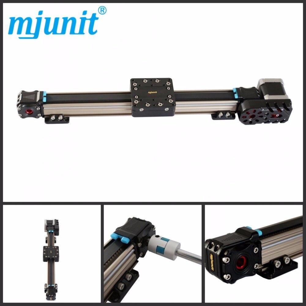 Mjunit MJ30 линейная направляющая Выдвижной Стол Slip way Machinery промышленная часть линейная направляющая с длиной хода 500 мм