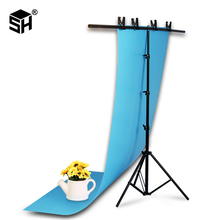 Background Frame Photography Backdrop T-shaped Background Support Stand System Metal backgrounds for photo studio Multiple sizes