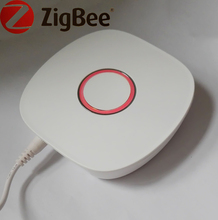 Work with Aamazon Alexa Zigbee Wireless Remote Control Host for Smart Home Control Lights Camera Curtain security Sensors