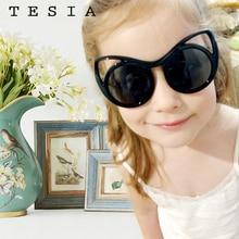 Polarized Sunglasses Eyewear Lunette Boys Children S8122 Cat Eyes Soleil Homme Baby-Girl
