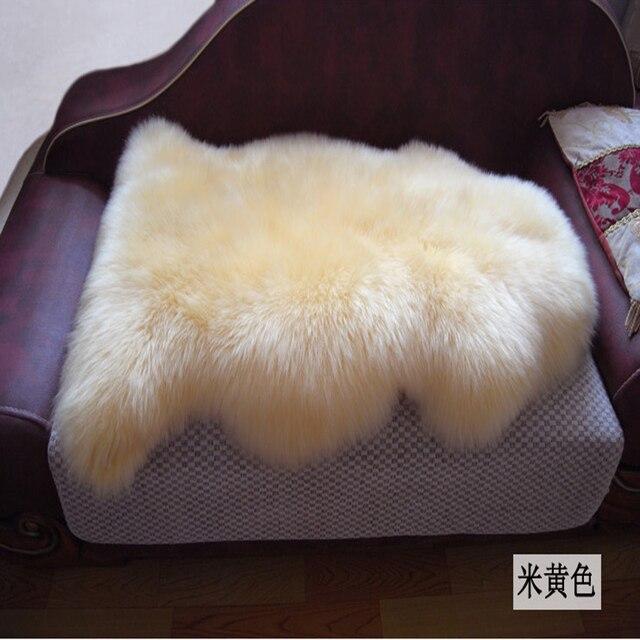 Fell Für Stuhl genuine merino schaffell fell sofa stuhl abdeckung teppich pelt