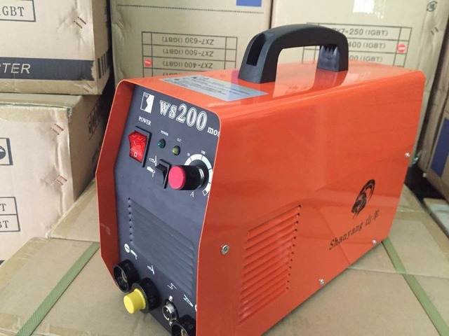 Inverter DC TIG/MMA Welding machine WS-200A,single phase TIG/MMA-200 Welder, tig/mma welding equipment
