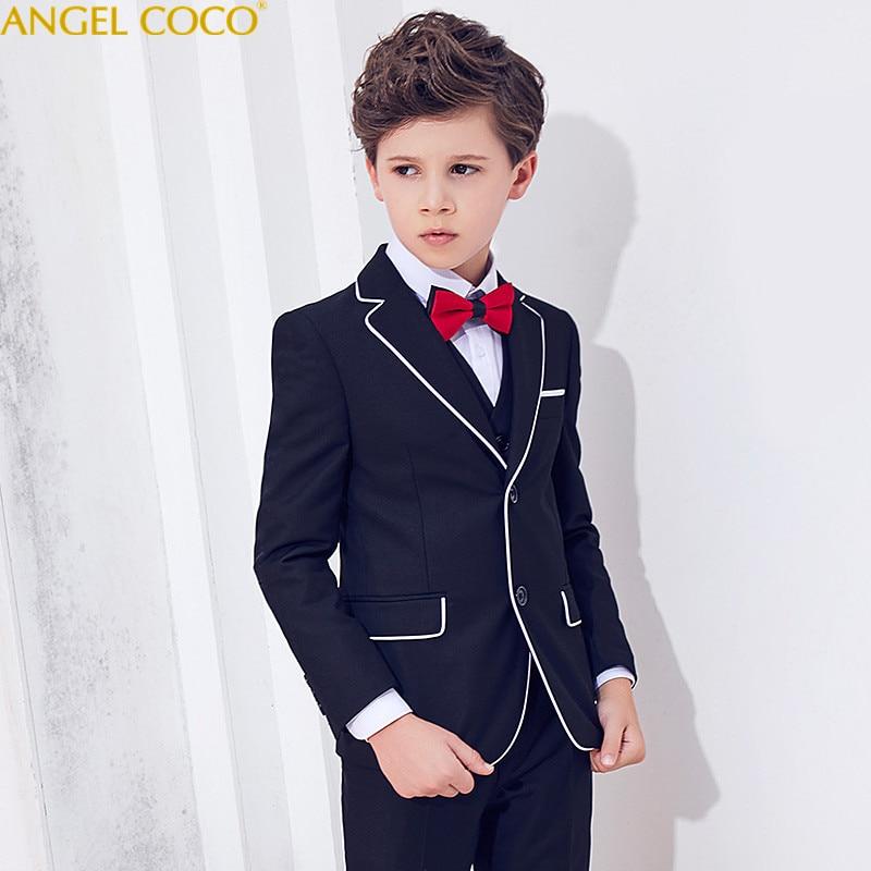 Suit For Boy Jogging Garcon Boys Suits For Weddings Costume Enfant Garcon Mariage Blazer Boys Blazer Menino Tuxedo Boys Clothing blazer georgede пиджаки под джинсы