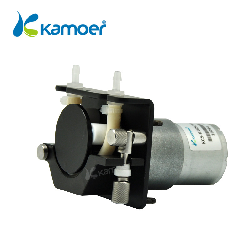 Kamoer KCS Mini Peristaltic Pump12V/24V Electric Small Water Dosing Pump With DC motor(Silicone tube, BPT Tube) - 2