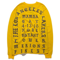 Уличная Длинным Рукавом Мужская футболка Хип-Хоп Kanye West Хлопок футболка Yeezus Печати Высокого Качества Желтая футболка Для Мужчин Негабаритных