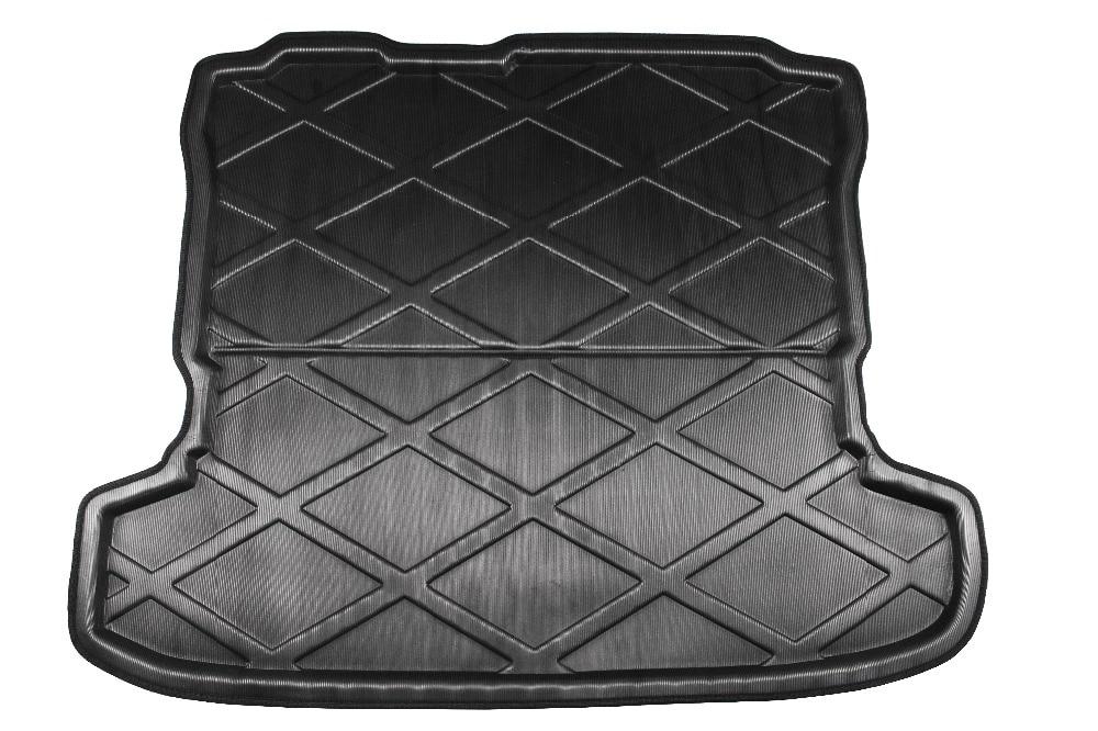 Автомобиль задний багажник Грузовой лоток загрузки лайнер коврик ковер Protector Pad для Mitsubishi Pajero V97 2007-2013 2014 2015 2016 2017 2018