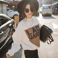 Women Hoodies Casual Sweatshirt Pullover Candy Hoodies Coat Jacket Outwear Tops American Apparel Autumn Winter Plus