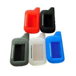 Coque en silicone pour porte-clés russe | TZ9010, système d'alarme à 2 voies, porte-clés pour Tomahawk TZ9030 TZ9020