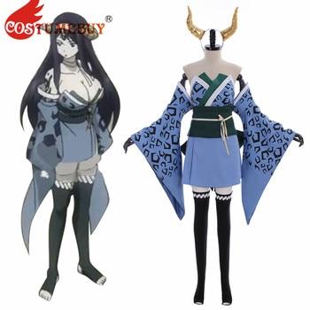 CostumeBuy Fairy Tail Seilah Ryougetsuten Seira Cosplay Costume Adult Halloween Carnival Fancy Full Set Custom made