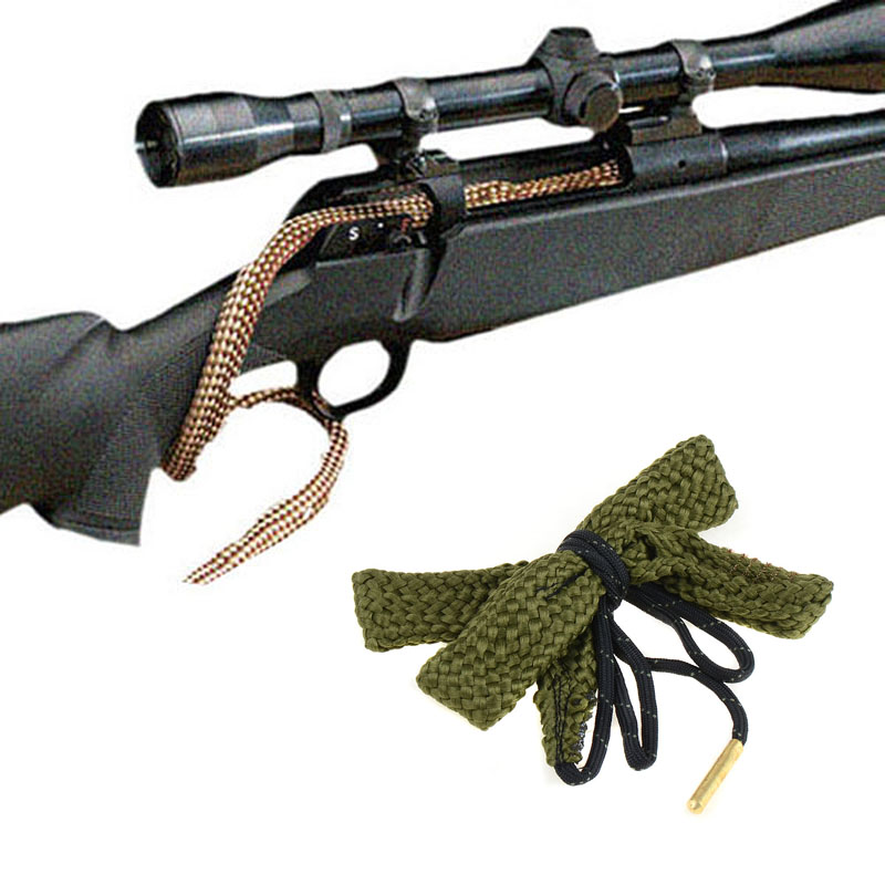 Bore Snake Cleaner.380; 9mm; .38; .357 cal Gauge Rifle / Pistola / Shotgun Cleanin