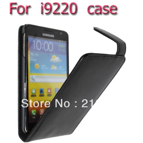 High Quality leather case for samsung Galaxy Note i9220 N7000 cover