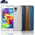 """Original desbloqueado samsung galaxy s5 i9600 quad core telefone móvel 5.1 """"16mp remodelado telefone android nfc smartphones"""