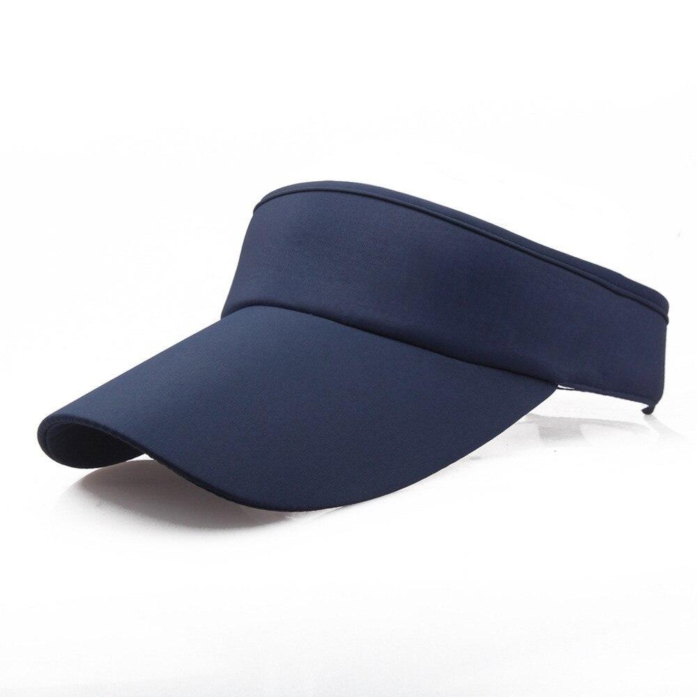 2019 New Arrival Fashion Adjustable Men Women Summer Sport Headband Classic Sun Sports Visor Hat Cap High Quality Hot Sale#P3