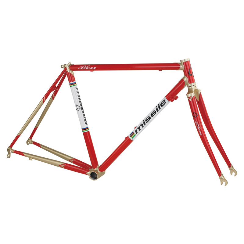 50cm and 52cm missile athena reynolds 520 cast lug steel bicycle framefor road bike