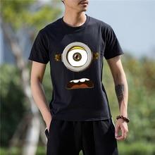 One Eye Minion Printed T-Shirt Men