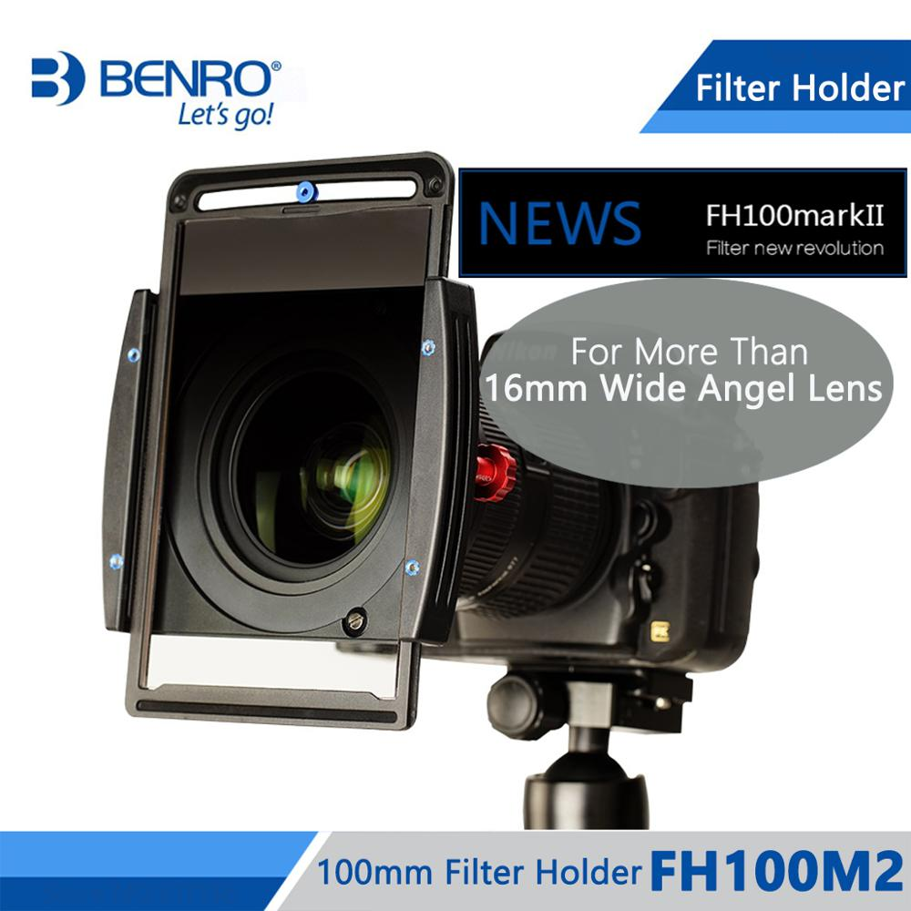 Benro FH100M2 100mm Square Filter System ND GND CPL Filter Holder For More Than 16mm Wide
