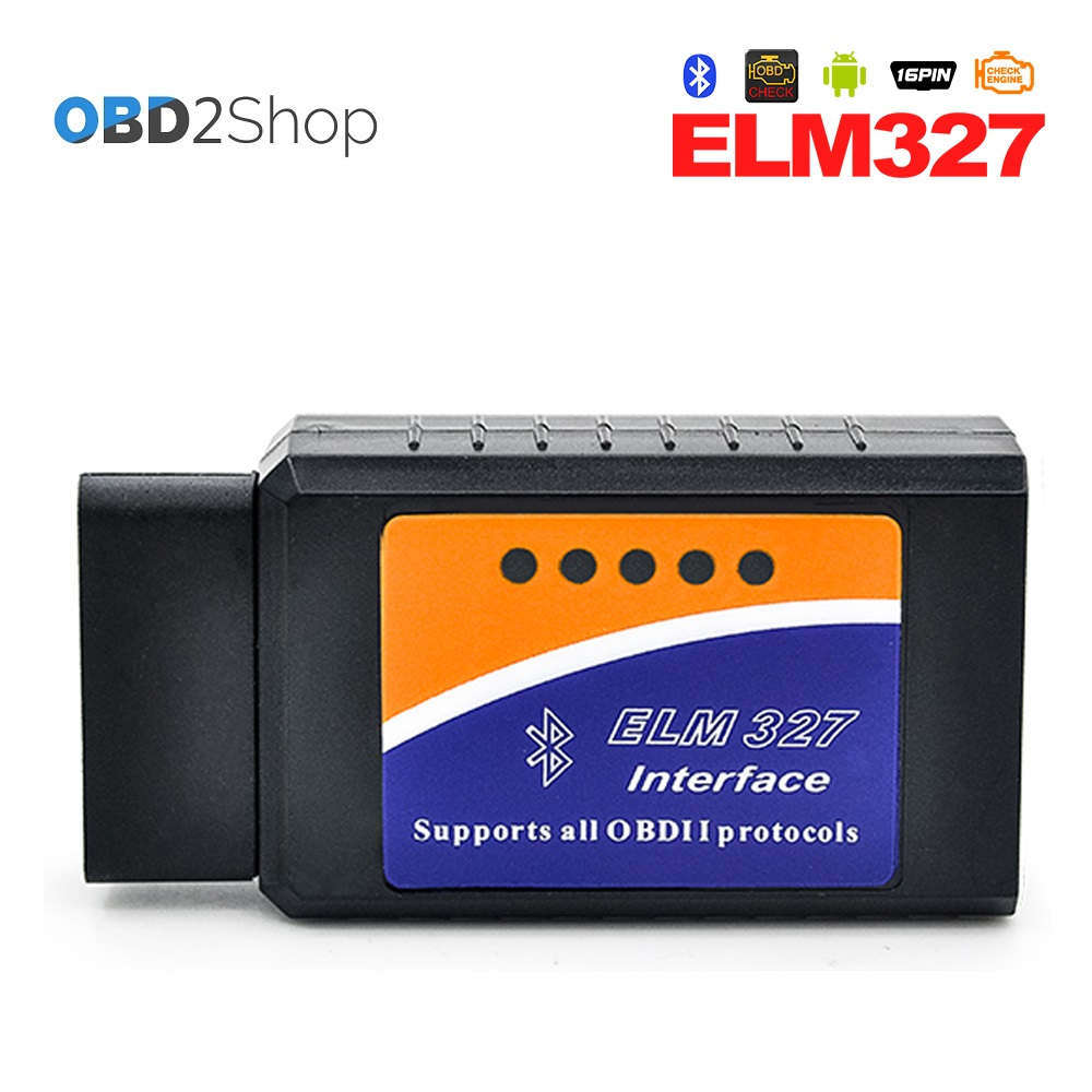 V2.1 Super Mini ELM 327 Bluetooth OBD II Diagnostic tool Works On Android Torque MINI EL ...