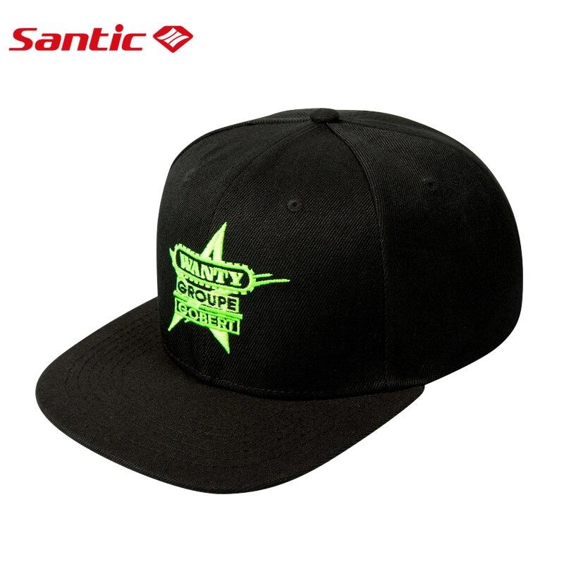 Santic Cycling Cap Men Women Sports Cap Black Baseball Cap Cycling Hat Outdoor MTB Road Bike Head Wear Hats Free Size