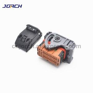 Image 2 - Автомобильный разъем ecu с 48 контактным разъемом, Женский провод molex, коричневый разъем, 1 комплект