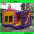 Mejor calidad 0.55mm Encerado DEL PVC Niños juguetes inflables alquiler/Salto Inflable Castillo Niños Rebote Casa