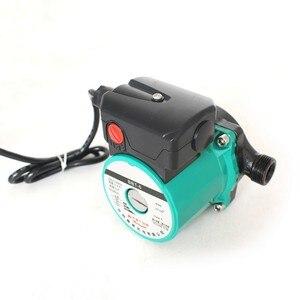 Image 2 - 100 واط التدفئة المنزلية الساخن مضخة جريان المياه لتدفئة فائقة الهدوء مضخة معززة غلاية المركزية مكيف الهواء