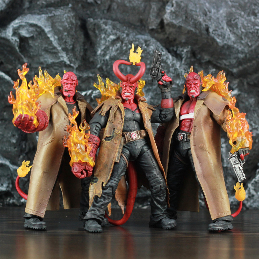 Hellboy Corno di Fumare Feriti HB 7