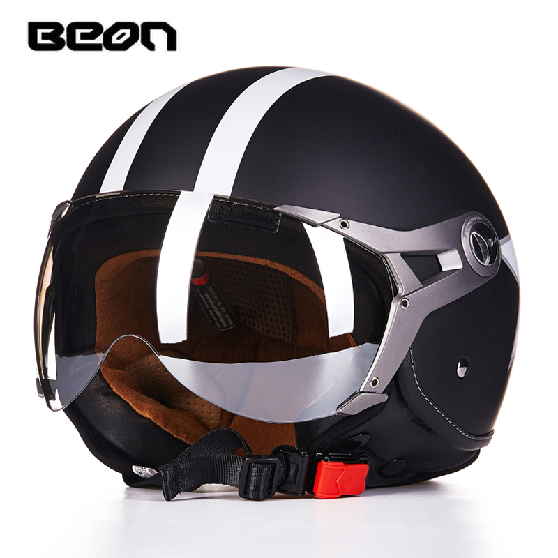 beon helmet b-110 motorcycle helmet open face cycling helmet capacete motociclismo cascos para vintage moto helmets