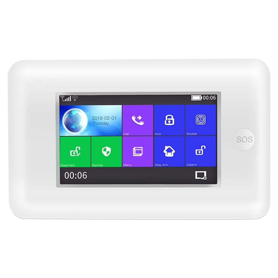 YobangSecurity Wireless WIFI GSM Home Alarm System Android IOS App Video IP Camera Smart Home Burglar Security Fire Alarm KIT - 2