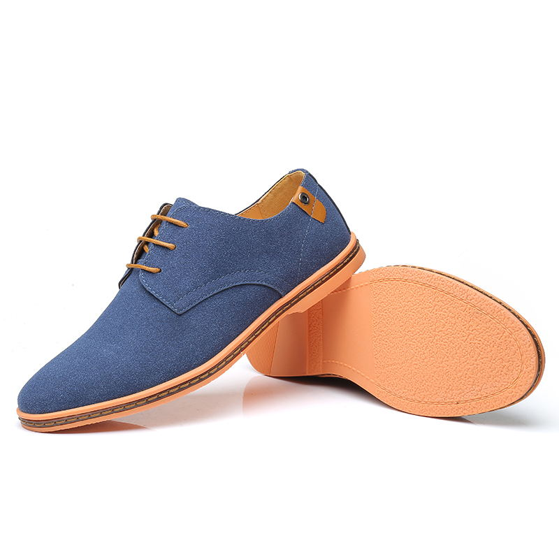 HTB1ulIHX8WD3KVjSZFsq6AqkpXaU VESONAL Brand 2019 Spring Suede Leather Men Shoes Oxford Casual Classic Sneakers For Male Comfortable Footwear Big Size 38-46
