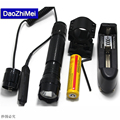 New CREE XM- LT6 LED 2000LM Aluminum LED Torch LED Flashlight Tactical Torch Light With Gun Clip Remote Switch For 18650 Battery