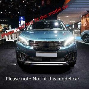 Image 3 - Misura per Peugeot 3008/GT 5008GT 2016 2019 Car Styling griglia anteriore in acciaio inox griglie da corsa Trim 26 accessori per Auto