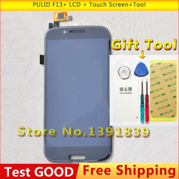 100% Nova Preto F13 + tela sensível ao toque Para PULID F13 + Display LCD + de tela de toque de tela 1920x1080 5.0 + ferramenta frete grátis