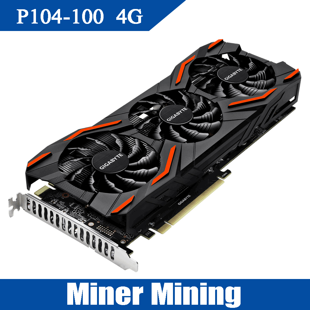 Miner Mining P104 100 4G Video Cards 256bit/NVIDIA/10010MHz