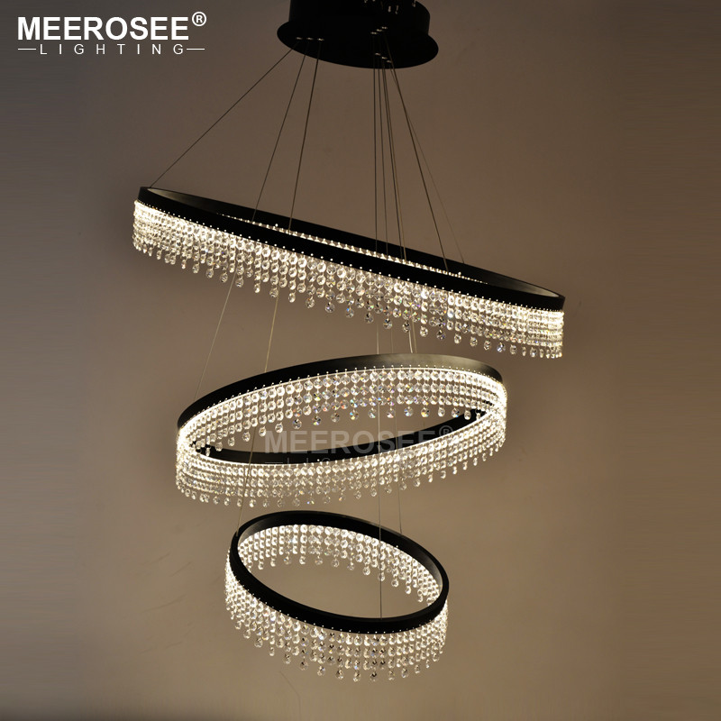 Modern Led Pendant Light Design Ring Crystal Led Light Loft Hanging Lamp Dining Room Led Lamparas Home Deco Crystal LightingModern Led Pendant Light Design Ring Crystal Led Light Loft Hanging Lamp Dining Room Led Lamparas Home Deco Crystal Lighting