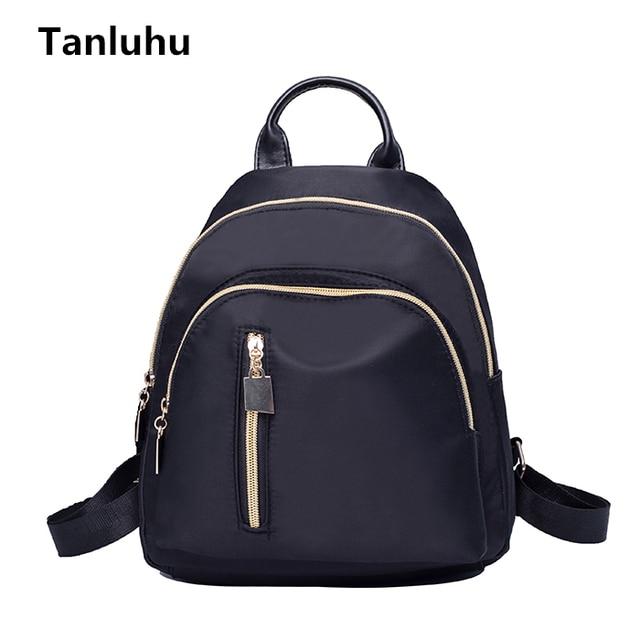 Tanluhu mochila women durable student school small backpack lady ...